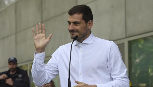 Iker Casillas ya no postulará como presidente de la Real Federación española de Fútbol. (Foto: AFP)
