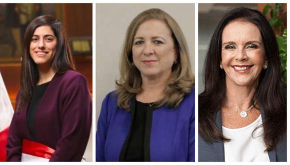 María Antonieta Alva, Madeleine Osterling y María Isabel León son algunas de las mujeres que el sector empresarial peruano destaca como las más influyentes en economía.