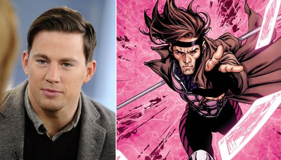 "Channing Tatum será Gambit en próxima película de ""X-Men"""
