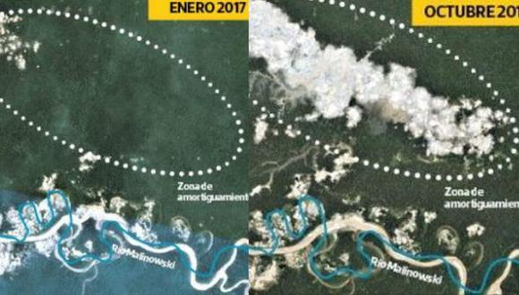 En el 2018 se registró pico histórico de deforestación por minería ilegal