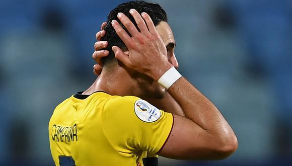 Ecuador recibe en la próxima fecha a Brasil. La Tri debe obtener una victoria para clasificar a cuartos y no depender de otros resultados (Foto: AFP)