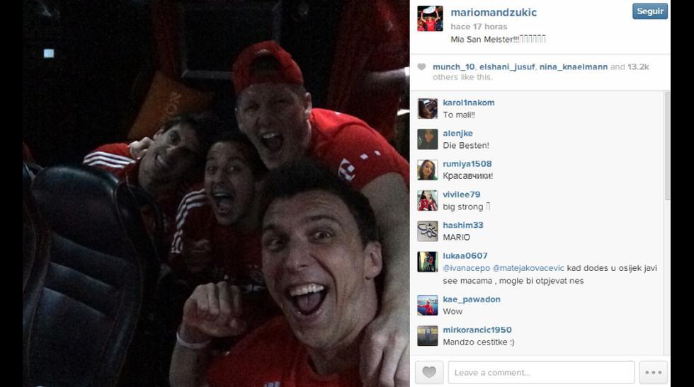 Pizarro y sus compañeros celebran título de Bundesliga en redes - 12