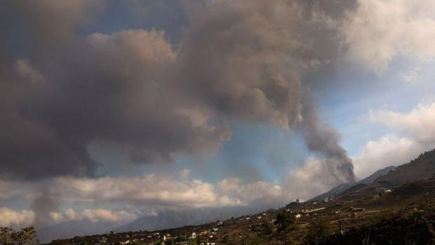 The eruption is just beginning.  It can last for several months.  (Getty Images).