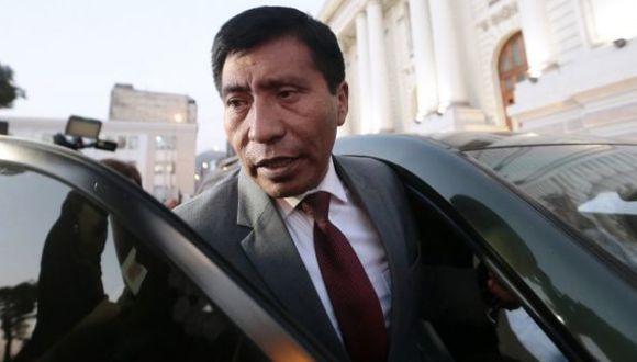 lo que ocurra con la inmunidad del legislador Mamani será en buena cuenta
