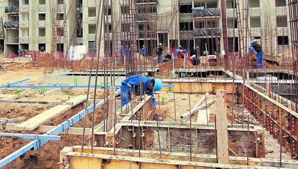 Construcción es el quinto sector que más contribuye a la economía, con el 5,1% del PBI total. (Foto: GEC)