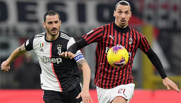 Milan vs Juventus se enfrentan este miércoles por la fecha 16 de la Serie A | Reuters