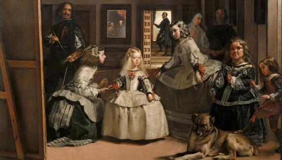 """""""Las meninas"""", uno de los cuadros más famosos del pintor sevillano Diego Velázquez que se expone en el Museo del Prado. (Foto: Instagram @museoprado)"""