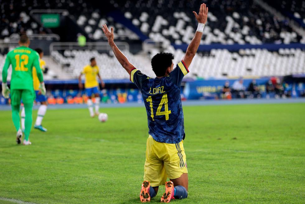 Brasil 2-1 Colombia: polémico triunfo del 'Scratch' lo deja como líder de  grupo y clasificado a cuartos de la Copa América   DEPORTE-TOTAL   EL  COMERCIO PERÚ