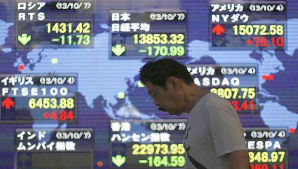 Bolsas asiáticas vuelven a bajar por nerviosismo sobre China