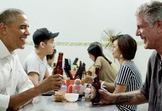 El día que Anthony Bourdain cenó con Obama por US$6 en Vietnam