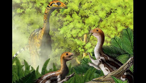 El limusaurus, un dinosaurio que perdía los dientes al crecer