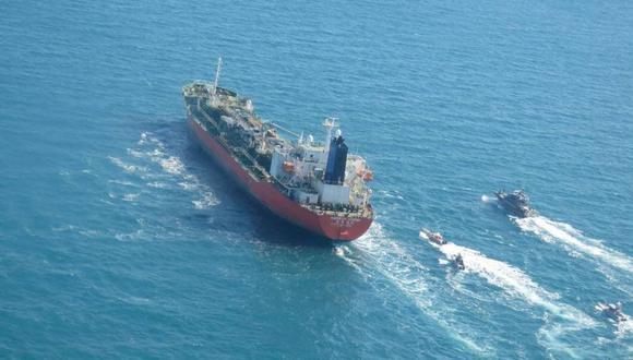 Un buque cisterna de bandera de Corea del Sur fue capturado por Irán en el Golfo. (Reuters).