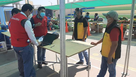 Lambayeque: Contraloría supervisó habilitación de mercados temporales en Ferreñafe (Foto difusión).