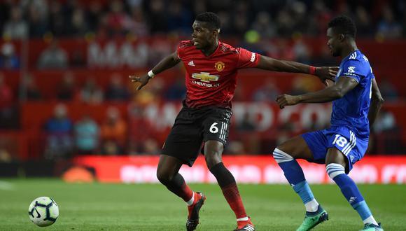 Manchester United vs. Leicester EN VIVO por ESPN: 'Red Devils' ganan 2-0 en el inicio de la Premier League. (Foto: AFP)