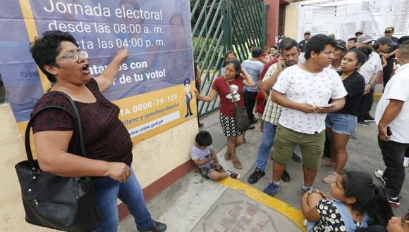 El proyecto de APP prohibe exigir la presentación del holograma de votación en las elecciones generales 2021 en el Documento Nacional de Identidad (DNI). (Foto: GEC)