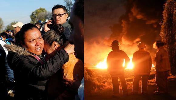 México: La reportera que contó cómo fue la explosión del ducto de Pemex. (Reuters / AFP)