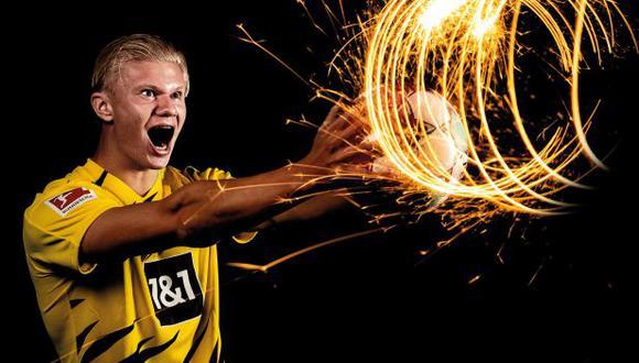 Erling Haaland tiene 11 goles en la presente temporada con Borussia Dortmund. (Foto: Borussia Dortmund)
