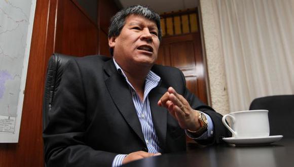 Procuraduría pide reparación de S/.1 millón a Wilfredo Oscorima