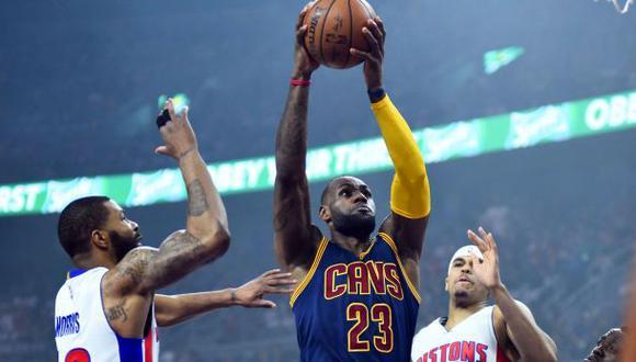 Playoffs NBA: Cavaliers derrotaron a Pistons y ganan serie 3-0