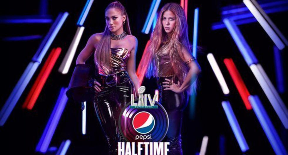 Shakira y Jennifer Lopez serán las encargadas de poner la cuota musical en el entretiempo del Super Bowl.