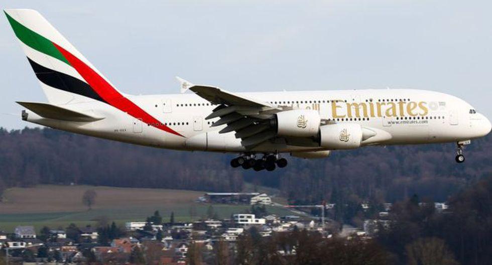 """""""Podemos anunciar que Perú se convertirá en el cuarto país de Latinoamérica en tener vuelos directos desde Dubái"""", expresó el titular del Mincetur. (Foto: AFP)"""