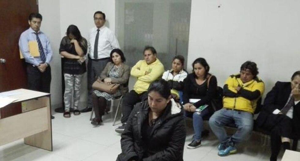 Patricia Ferro Robles, suboficial que fugó a Chile tras recibir más de S/ 350 mil por error, fue sentenciada a 4 meses de prisión suspendida. (Foto: @CSJdeLima)