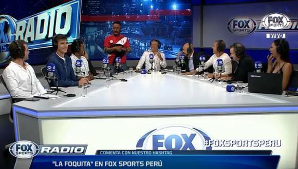 Miguel Moreno Armas en el panel de Fox Sports Radio Perú. (Foto: YouTube)