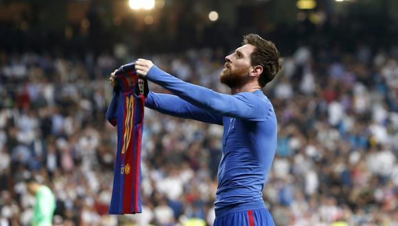 En el 2017 así celebró su gol en el Bernabéu. (Foto: EFE)