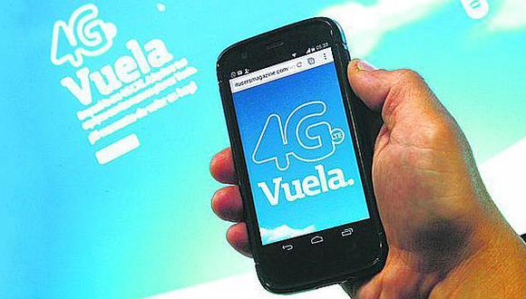 Apenas el 3% de los usuarios pospago se ha animado por red 4G