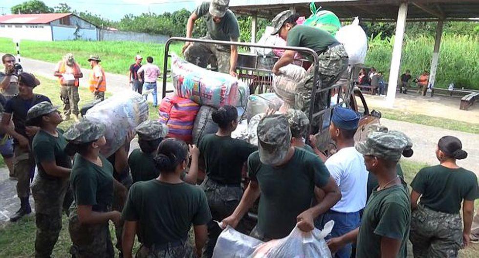 San Martín: toneladas de donaciones no pueden ser enviadas - 1