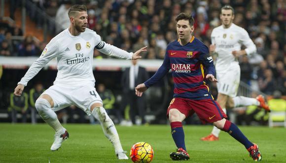 El capitán del Madrid, como de costumbre, vivirá de forma especial el duelo ante el Barcelona de Lionel Messi. (Foto: AFP)