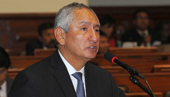 René Cornejo es acusado de licitar con el Estado cuando era ministro de Vivienda (Foto: Congreso de la República )
