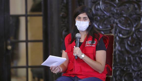 María Antonieta Alva tendrá un trabajo relacionado a la plataforma COVAX Facility. (Foto: Archivo GEC)
