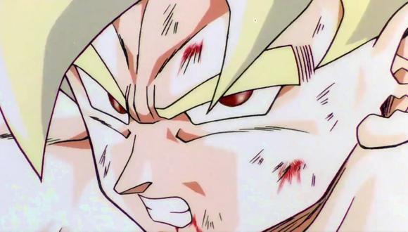 El color de los ojos de los saiyajines es rojo en el diseño original (Foto: Dragon Ball Z / Toei Animation)