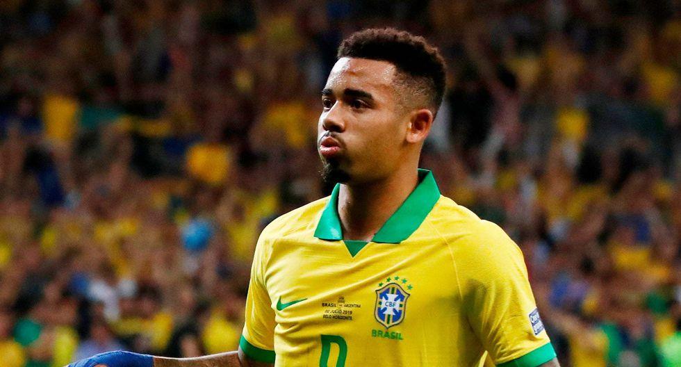 Gabriel Jesus lleva 17 goles con la selección brasileña. Todos los marcó con Tite en el banco. (Foto: AFP)
