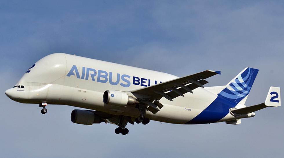 Conoce al 'Beluga', el avión más extraño del mundo - 1