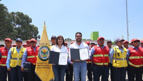 La Molina y ATU firman convenio. (DIfusión)