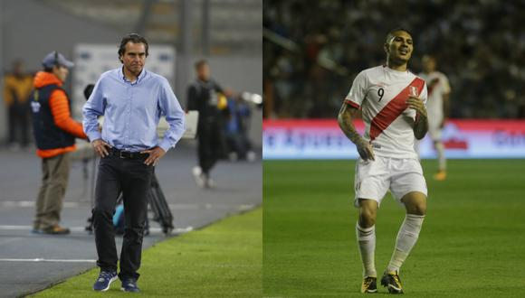 Chemo del Solar y Paolo Guerrero (Foto: El Comercio)