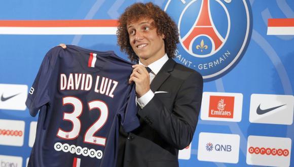 David Luiz fue presentado como nuevo jugador del PSG