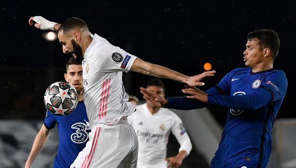 Real Madrid visita a Chelsea en la semifinal de vuelta de la Champions League | Foto: AFP