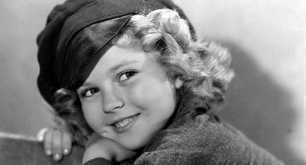 Recordada estrella infantil Shirley Temple murió a los 85 años