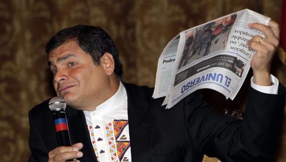 Correa busca debilitar con reformas a la CIDH