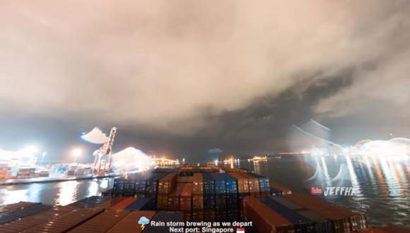 El material fue compartido en el canale de YouTube del vlogger Jeffrey Tsang. (Foto: captura de YouTube)