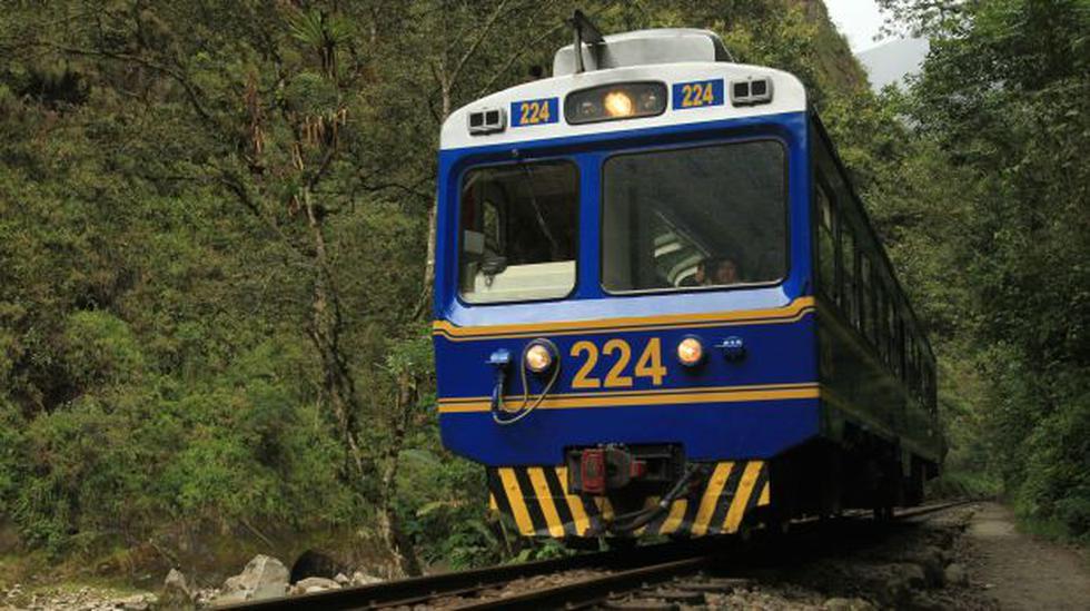 Machu Picchu: suspenden servicio de trenes en vía Cusco-Poroy - 1