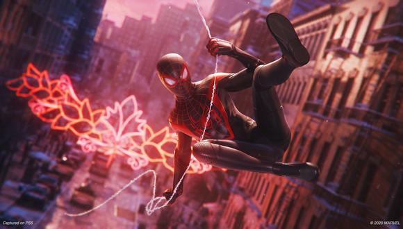 Spider-Man: Miles Morales es uno de los juegos que acompañan el lanzamiento de la PS5. (Foto: PlayStation)