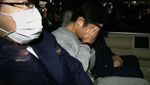 Takahiro Shiraishi después de ser arrestado en 2017. (Foto: Getty Images)