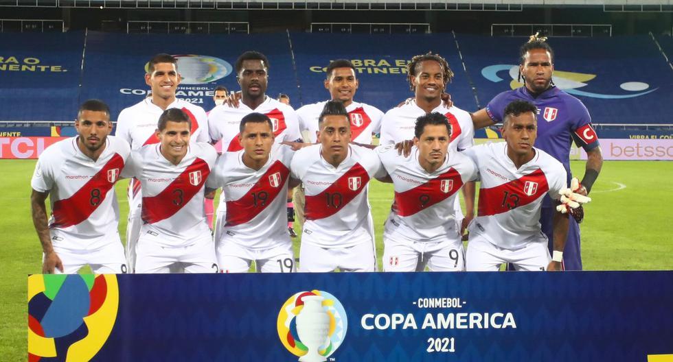 Ricardo Gareca mandó este equipo para enfrentar a Brasil en el debut de la selección peruana en la Copa América 2021.