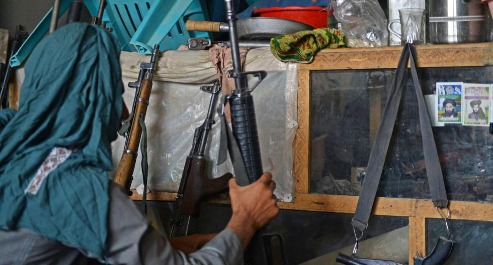 Arms sales are booming in Kandahar, home of the Taliban in Afghanistan