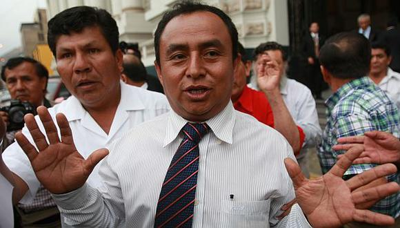 Gregorio Santos: amplían prisión preventiva hasta el 2017