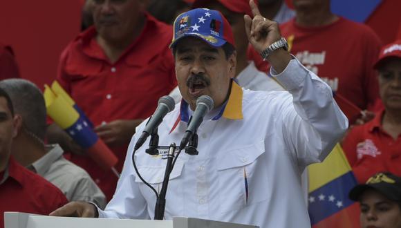 Nicolás Maduro señaló que existen pruebas que respaldan su versión como las balas usadas en la central hidroeléctrica de Guri. (Foto: AFP)